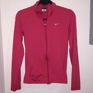Nike dri fit zip up